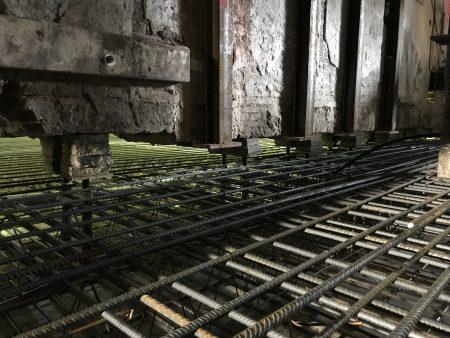 Voorbeeld van Stempels onder dragende muren