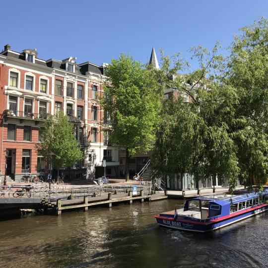 Leidsekade Amsterdam